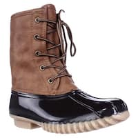 The Orginal Duck Boot Arianna Flannel Lined Boots, Tan/Brown
