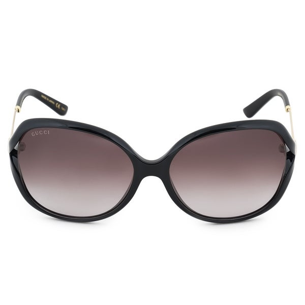 Gucci Butterfly Sunglasses GG0076S 002 60 - 60mm x 16mm x 130mm. Opens flyout.