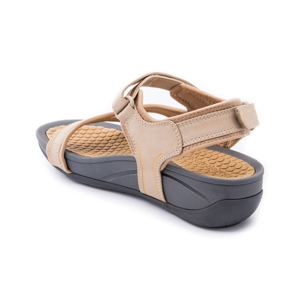 Shop Bare Traps Womens Debbie Split Toe Walking Platform