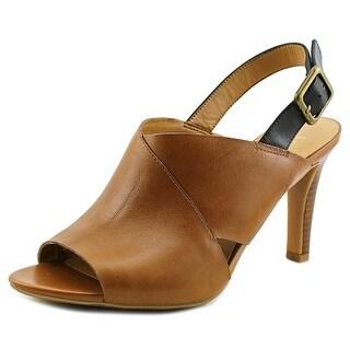 Franco Sarto Quartrain Women Open Toe Leather Sandals