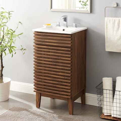 """Render 18"""" Bathroom Vanity Cabinet"""