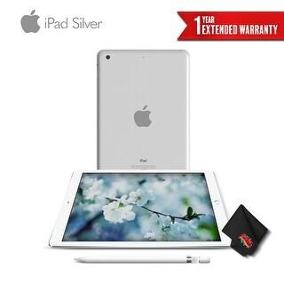 Apple 9.7 Inch iPad 32GB (Wi-Fi Only) Silver + Apple Pencil
