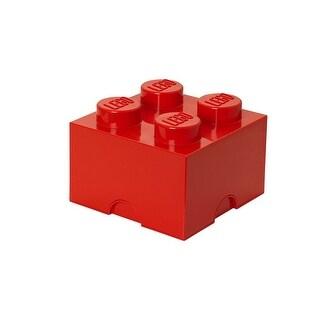 LEGO Storage Brick 4, Bright Red - Multi
