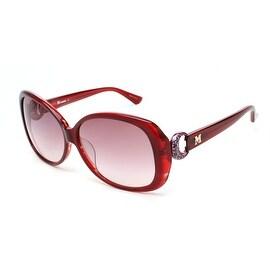 Missoni Women's Oversized Groovy Sunglasses Red - Small