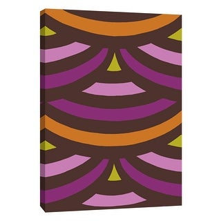 "PTM Images 9-108767  PTM Canvas Collection 10"" x 8"" - ""Monochrome Patterns 2 in Multi"" Giclee Abstract Art Print on Canvas"
