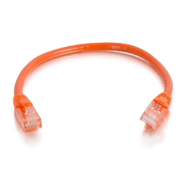 C2g 27812 7Ft Cat6 Snagless Unshielded Utp Network Patch Ethernet Cable-Orange