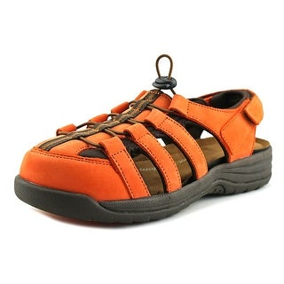Barefoot Freedom by Drew Element  WW Round Toe Leather  Fisherman Sandal