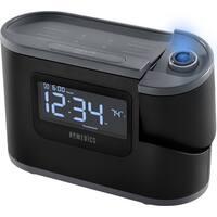 HoMedics Soundspa Recharged Projection Alarm Clock Radio