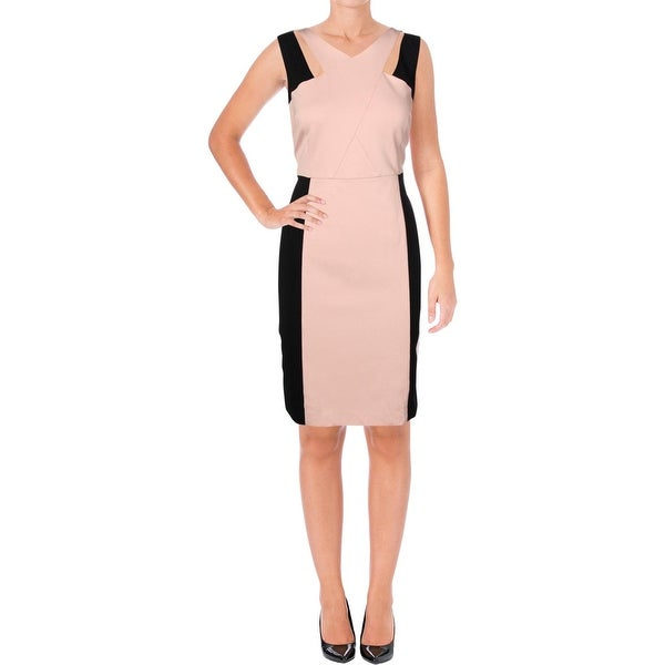 351c8f9c69260 Nine West Womens Party Dress Cut-Out Knee-Length