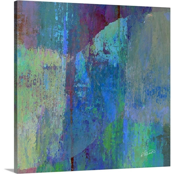 """Chasing Rainbows Two"" Canvas Wall Art"