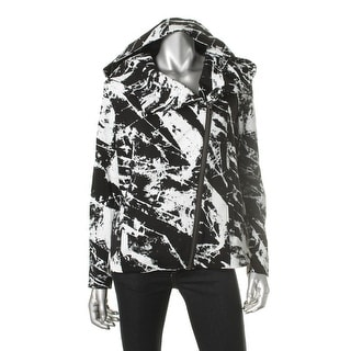 Helmut Lang Womens Graphic Asymmetric Hoodie - S