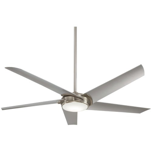 """MinkaAire Raptor 60"""" 5 Blade Indoor Ceiling Fan with Integrated LED Light and Remote"""
