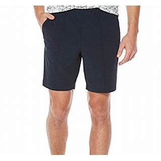 Perry Ellis NEW Blue Mens Size 40 Travel Luxe Flat Front Casual Shorts