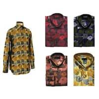 Men's Tropical Print Shirt