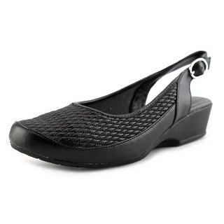 FootSmart Trudy Slingback   Round Toe Synthetic  Slingback Heel