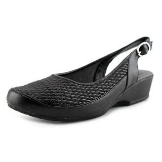 FootSmart Trudy Slingback  W Round Toe Synthetic  Slingback Heel