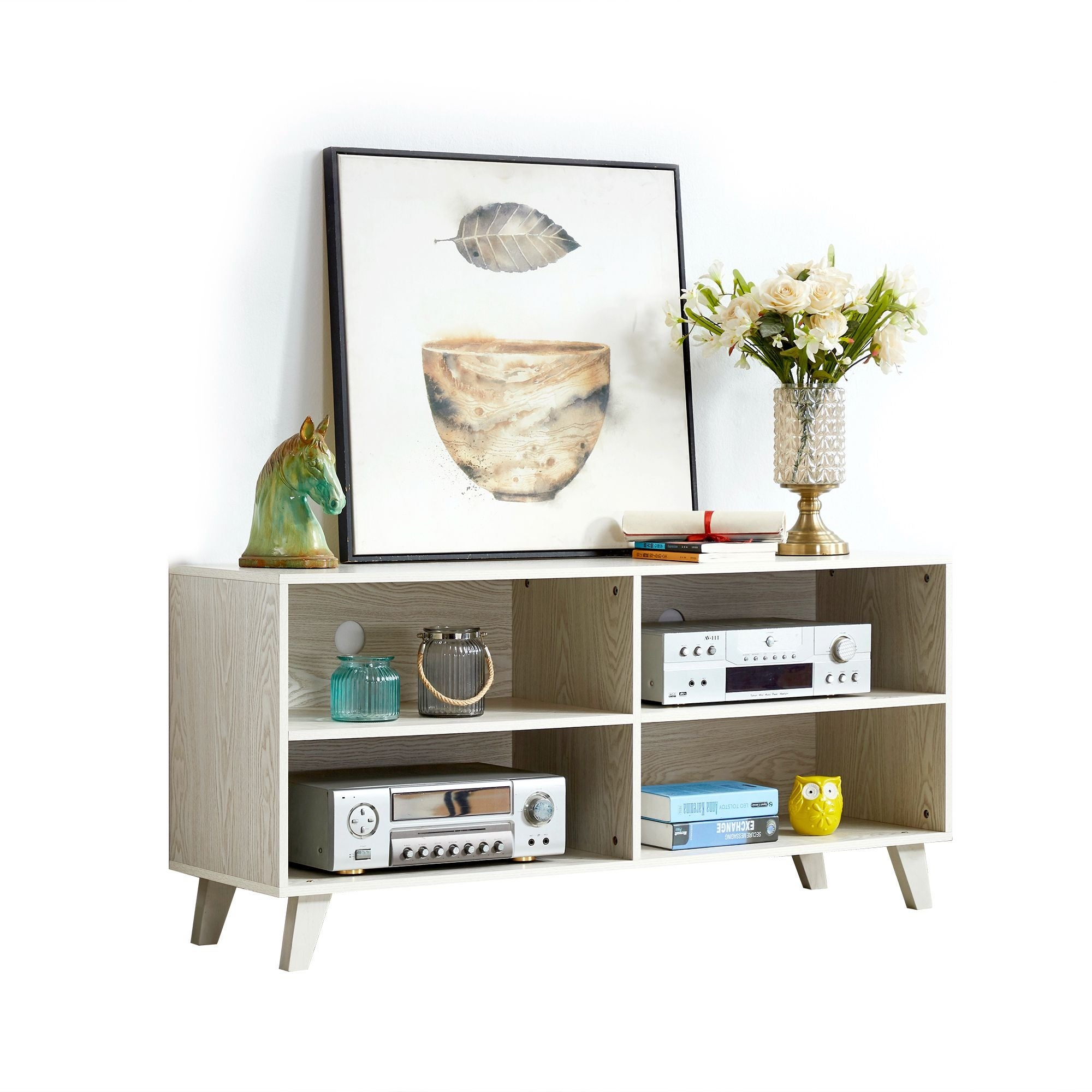 Modern Tv Stand For Tvs Up To 50 On Sale Overstock 31732573