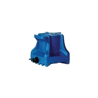"""Little Giant 577301 Outdoor Living Submersible Utility Pool Cover Pump with 1"""" FNPT Connection, Automatic Start and 25' Cord"""