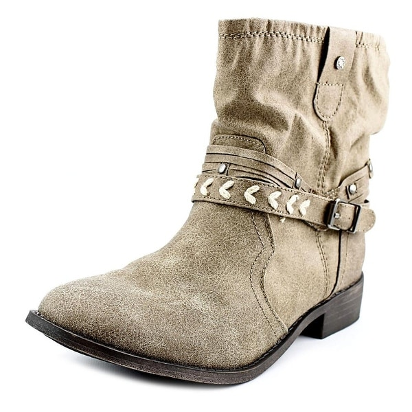 Sugar Indeed Women Taupe Boots