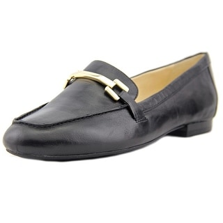Nine West Last Call Round Toe Leather Loafer
