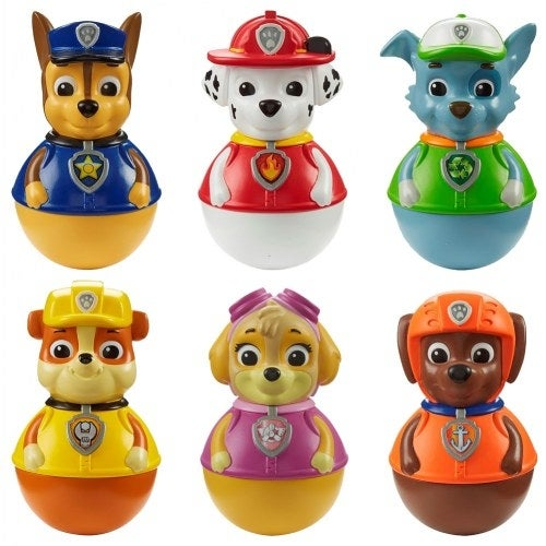 56dfd89330 Shop Paw Patrol(TM) Weebles Wobble Toys (Set of 6) - Free Shipping On  Orders Over $45 - Overstock - 20055459