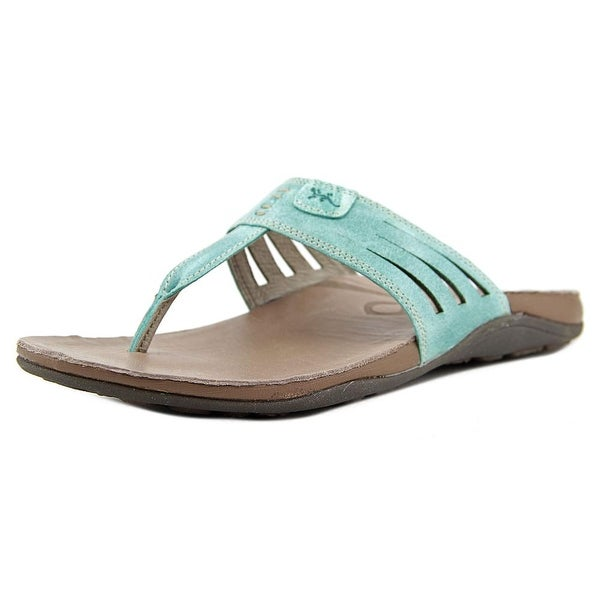 Chaco Sansa Women Open Toe Synthetic Flip Flop Sandal