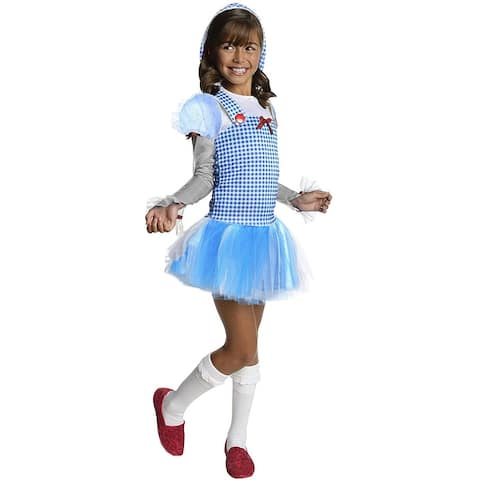 Wizard Of Oz Dorothy Child Costume - Blue