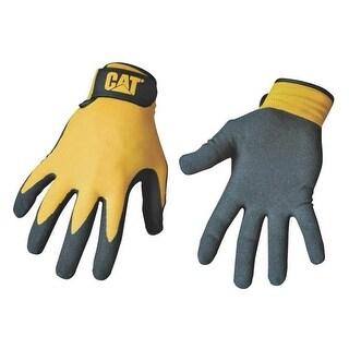 Cat CAT017416J Men's Nitrile Coated Palm Glove, Jumbo