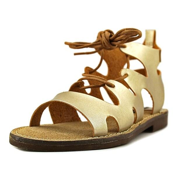 MTNG 53674 Women Brush Gold Sandals