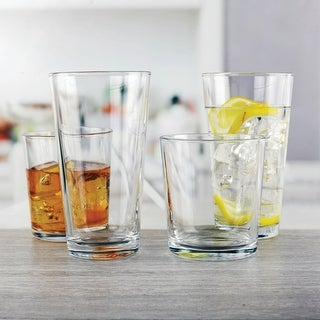 Link to Simple Home 12.5 oz. Entertaining Set of 12 Similar Items in Glasses & Barware