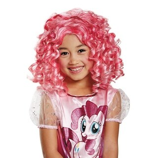 Disguise Pinkie Pie Child Wig - Pink