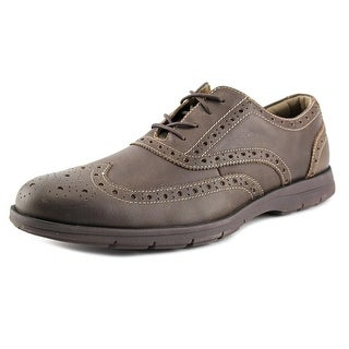 Chaps Haddon Round Toe Leather Oxford