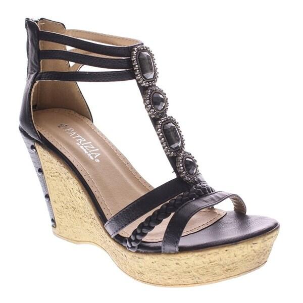 PATRIZIA Women's Pearl Camel Sandal