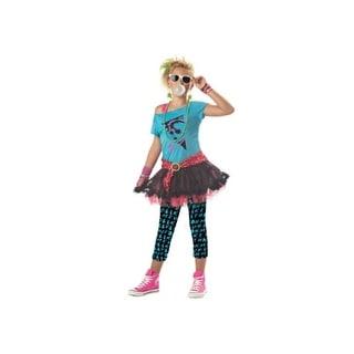 Tween 80s Valley Girl Costume