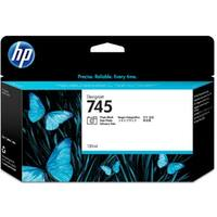 HP 745 130-ml DesignJet Photo Matte Black Ink Cartridge (F9J98A)(Single Pack)