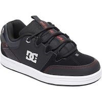 DC Shoes Boys' Syntax Sneaker Black/Red/White