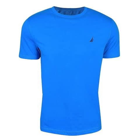 Nautica Mens Short Sleeve Solid Crew Neck T-Shirt, Adult