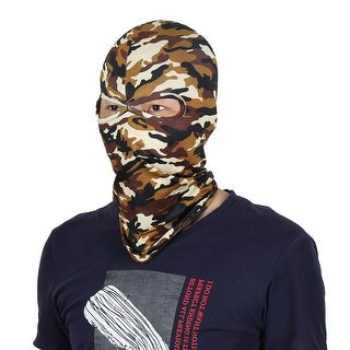 Full Coverage Face Mask Running Motorcycling Eyes Holes Neck Protector Balaclava