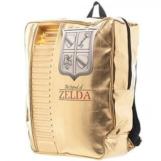 Legend of Zelda Gold NES Cartridge Backpack