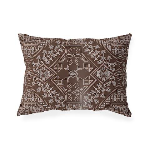 BAYBAR CHOCOLATE Lumbar Pillow By Kavka Designs