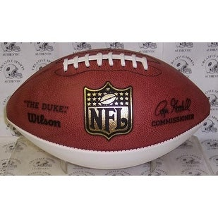 Wilson NFL 1 White Panel Autograph Model Football  FSPA