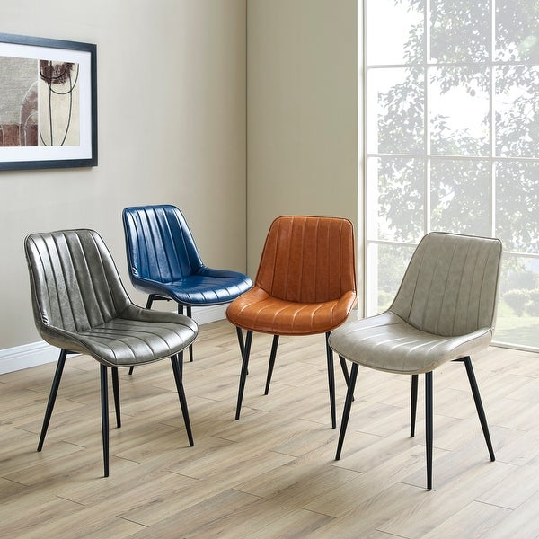 Carson Carrington Kalixfors Modern Upholstered Dining Chairs (Set of 2). Opens flyout.