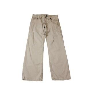 Polo Ralph Lauren Tan Flat Front Straight-Fit Pants X - 33X30