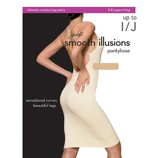 Hanes Smooth Illusions Ultimate Contouring Pantyhose - ij