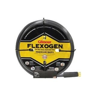 "Gilmour Flexogen 1609457392 Garden Hose, Kink Resistant, 1/2"" x 75'"
