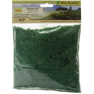 Blended Turf 20 Cubic Inches-Grass Green