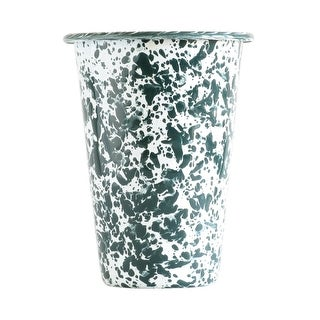 Crow Canyon D93GM Tumbler, 3 Oz, Green Marble