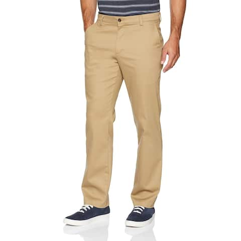 Dockers Mens Pants Beige Size 38x32 Straight Fit Easy Khakis Stretch
