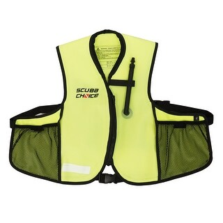 Scuba Choice Youth Snorkeling Oral Inflatable Snorkel Jacket Vest