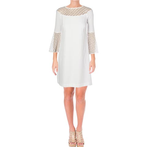 2f6481d0119 Lauren Ralph Lauren Womens Varlene Cocktail Dress Crepe Special Occasion
